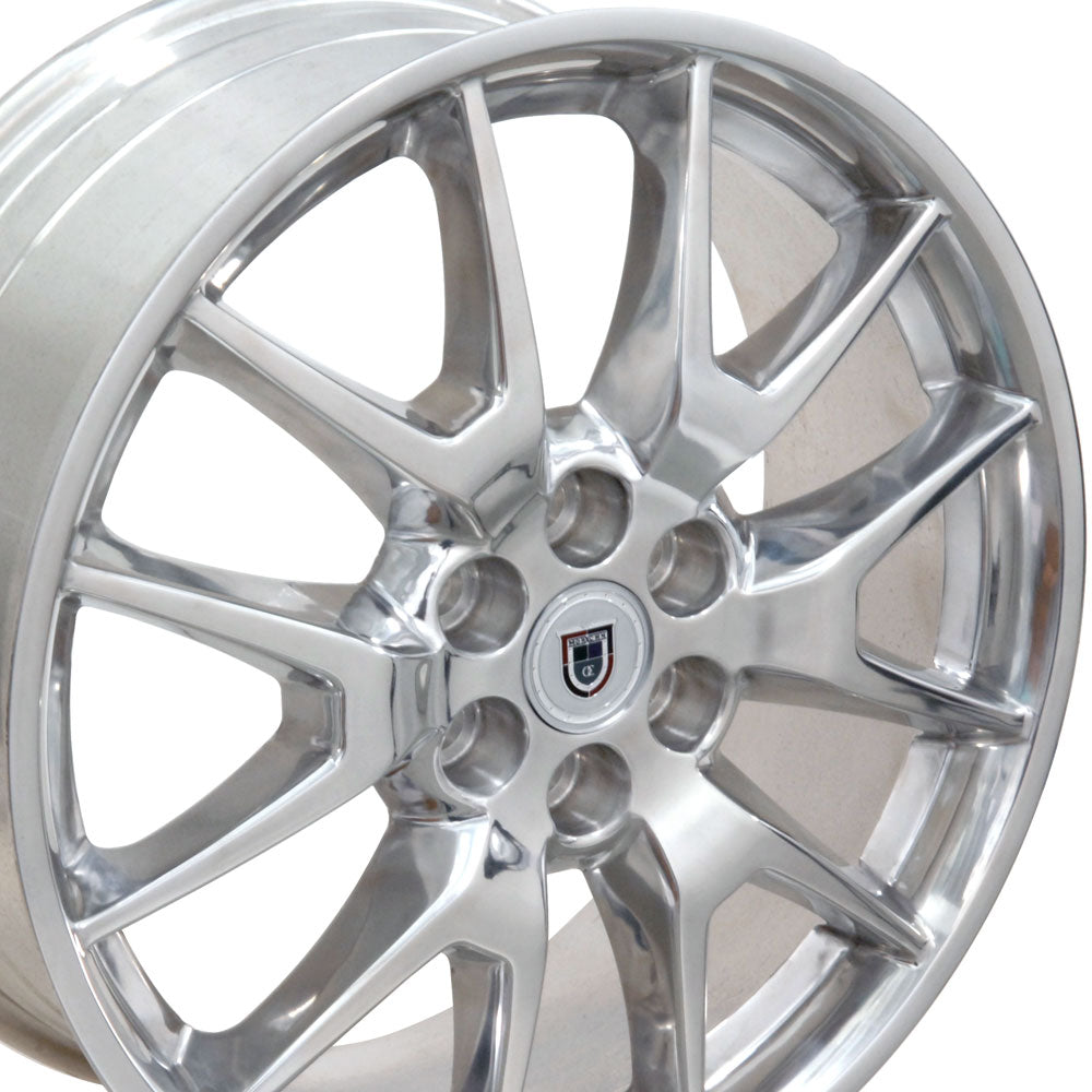 "20"" Fits Cadillac - SRX Style Replica Wheel - Polished 2x8 