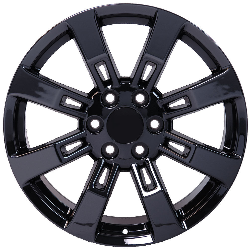 "20"" fits Cadillac - Escalade Replica Wheel - PVD Black Chrome 2x8.5 