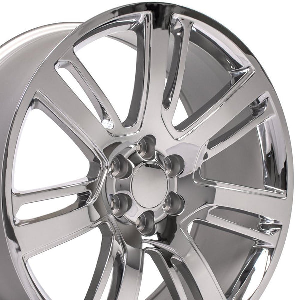 Chrome Wheel Replica fits Cadillac Escalade 24x10