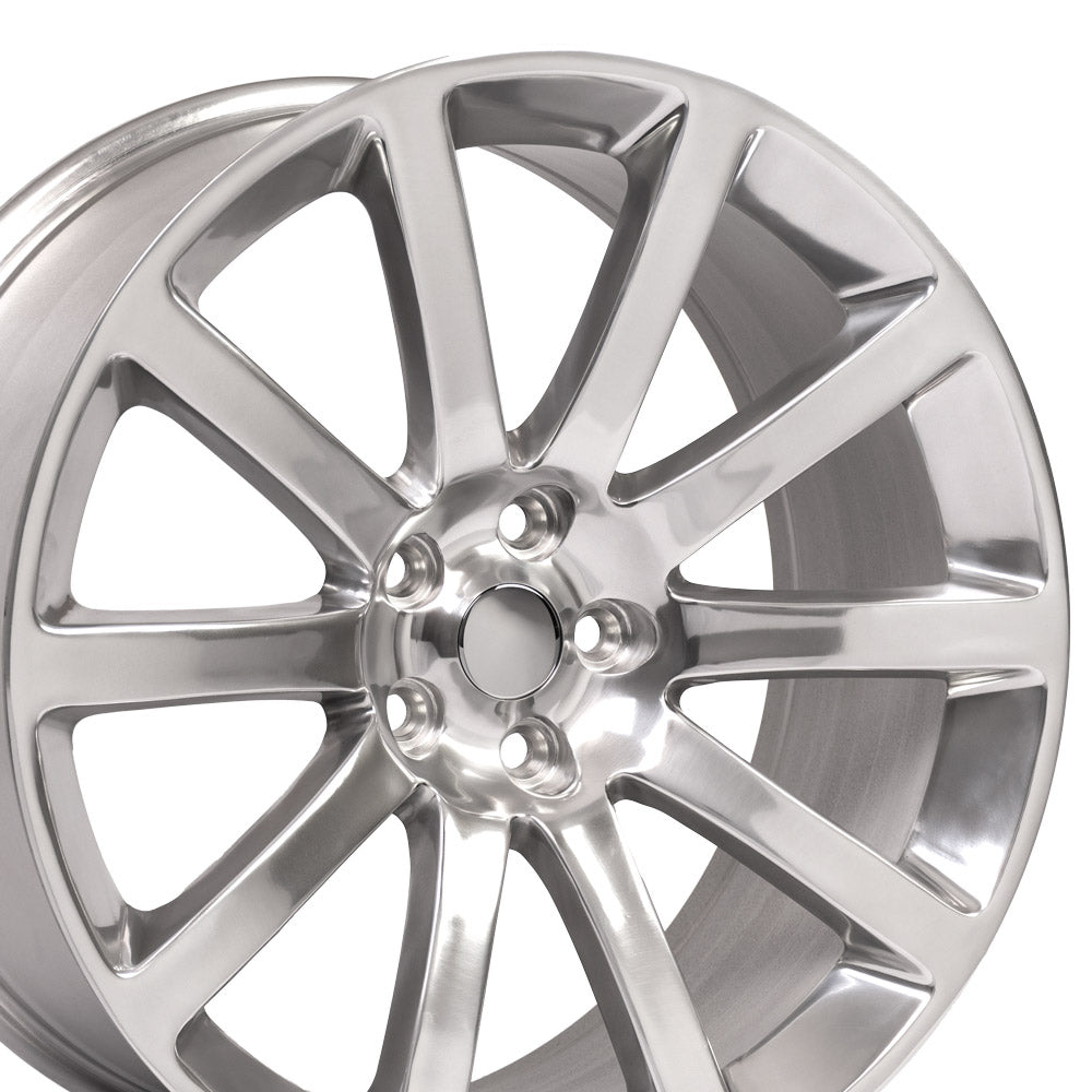 "20"" Rim fits Chrysler 300 SRT Polished 20x9 Wheel Hollander 2253"