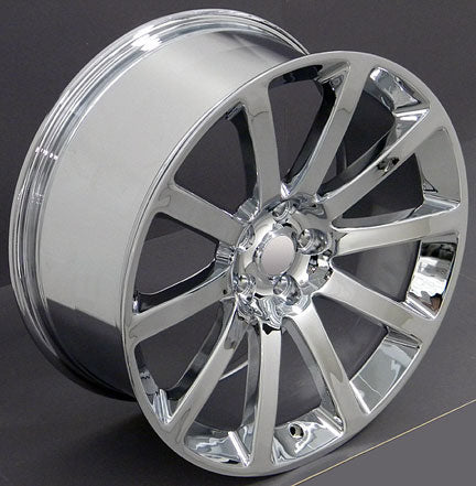 "22"" Fits Chrysler - 3 SRT Wheel - Chrome 22x9 