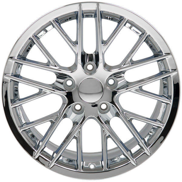 "19"" Fits Chevrolet - Corvette C6 ZR1 Wheel - Chrome 19x10 