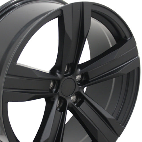 "20"" Fits Chevrolet - Camaro ZL1 Wheel - Satin Black 2x9.5 