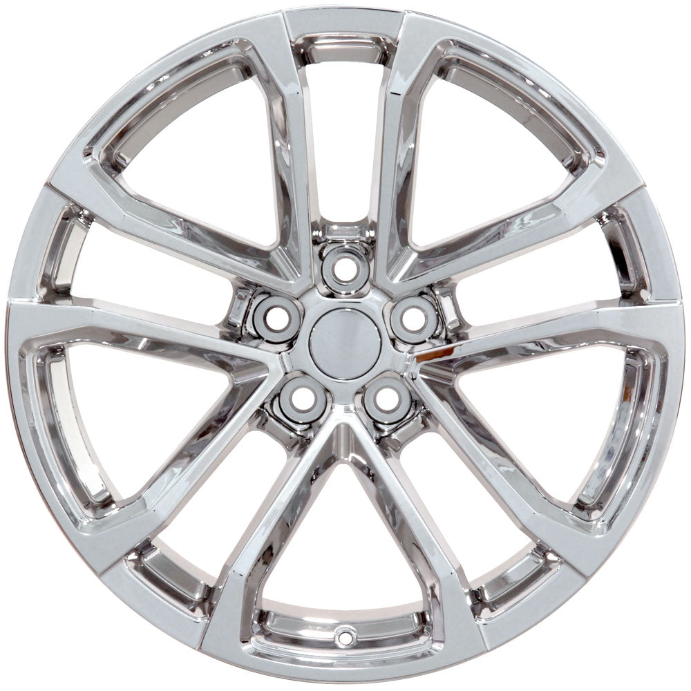 "20"" Fits Chevrolet - Camaro ZL1 Style Replica Wheel - Chrome 2x8.5 