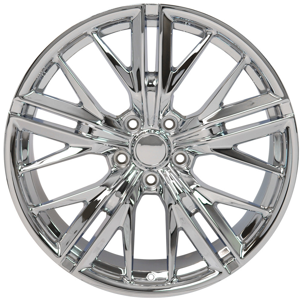"20"" fits Chevrolet - Camaro ZL1 Wheel Replica - Chrome 2x8.5 