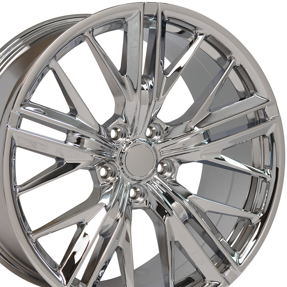 "20"" fits Chevrolet - Camaro ZL1 Wheel Replica - Chrome 2x9.5 