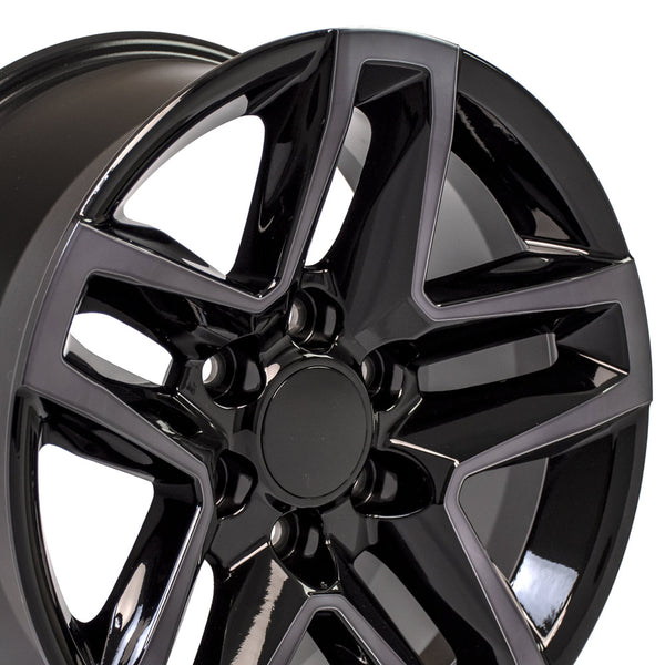 18 inch Rim Fits Chevy Trail Boss CV34 Tinted Machined Chevy Truck Wheel