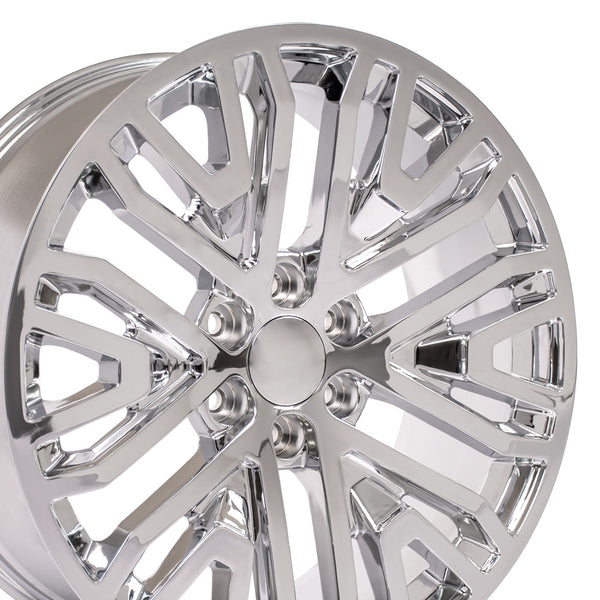 "22"" Chrome Rims fit GMC Sierra 1500 22x9"