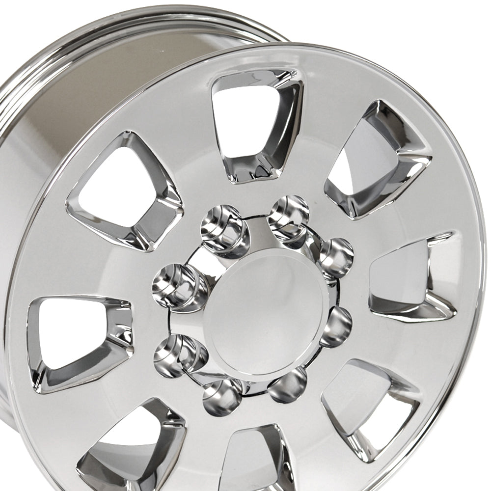 "18"" Fits GMC - Sierra 25/35 Style Replica Wheel - Chrome 18x8 