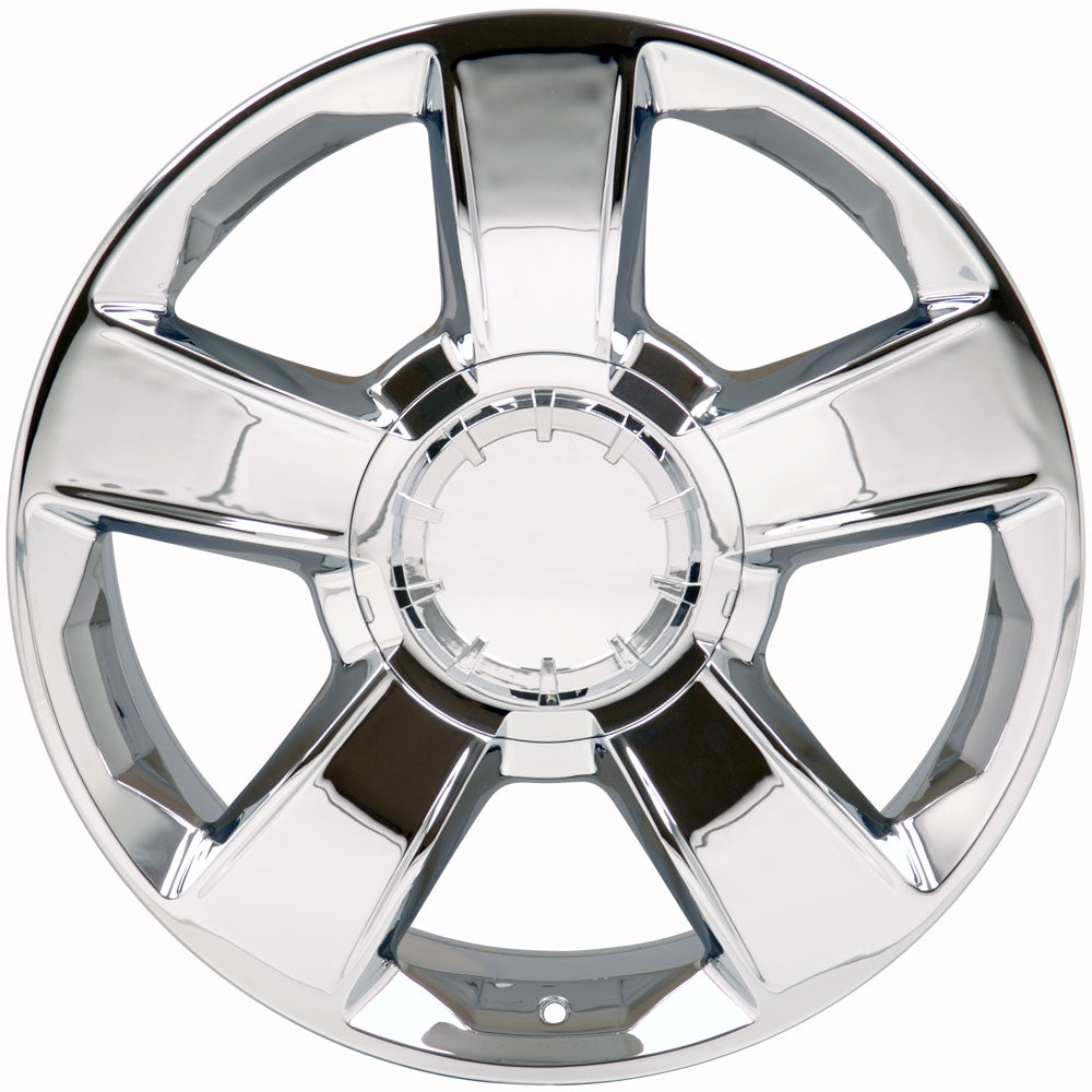 "20"" Fits GMC - Tahoe Style Replica Wheel - Chrome 2x8.5 