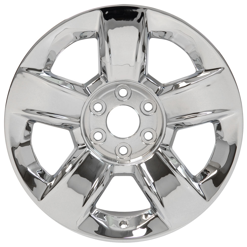 "20"" Fits Chevrolet - Silverado OEM Wheel - Chrome 2x9 