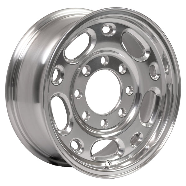 "16"" Rim fits GMC Chevy Trucks Polished 16x6.5 Wheel Hollander 5079"