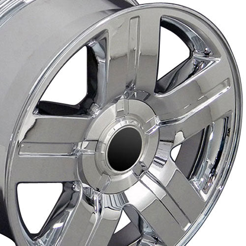 "22"" Fits Chevrolet - Texas Wheel - Chrome 22x9 