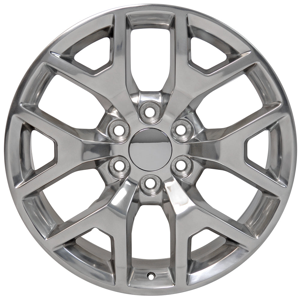 "20"" fits GMC - Sierra Replica Wheel - Polished 2x9 
