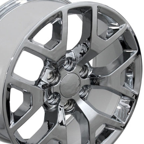 "22"" Fits GMC - Sierra 15 Style Replica Wheel - Chrome 22x9 