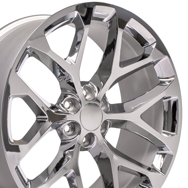 Chrome Rims fit GMC Sierra 1500 24x10