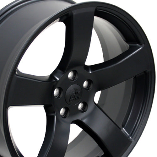 "20"" Fits Dodge - Charger Style Replica Wheel - Satin Black 2x8 