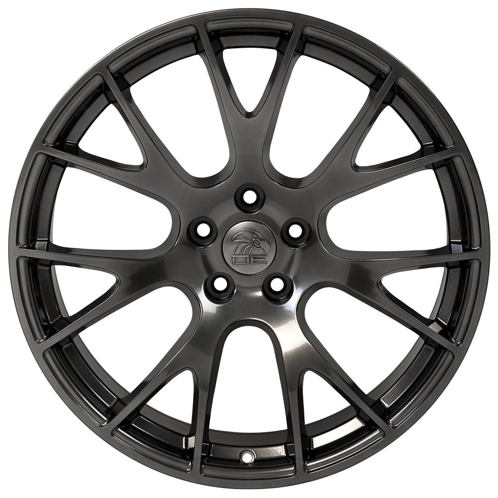 "22"" fits Dodge - Hellcat Style Replica Wheel - Hyper 22x9 