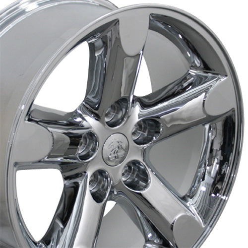 "20"" Fits Dodge - Ram 15 Wheel - Chrome 2x9 