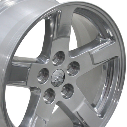 "20"" Fits Dodge - Ram Style Replica Wheel - Polished 2x9 