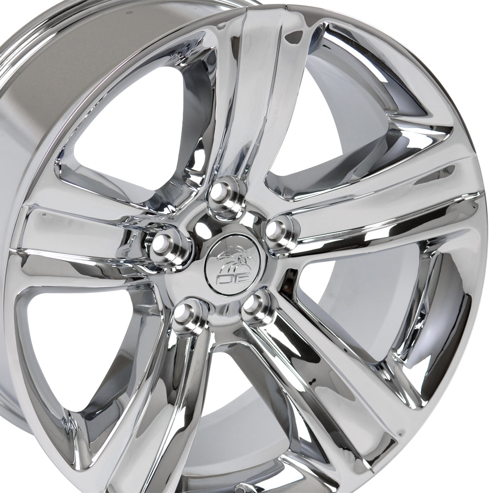 "20"" Fits Dodge - Ram 15 Style Replica Wheel - Chrome 2x9 