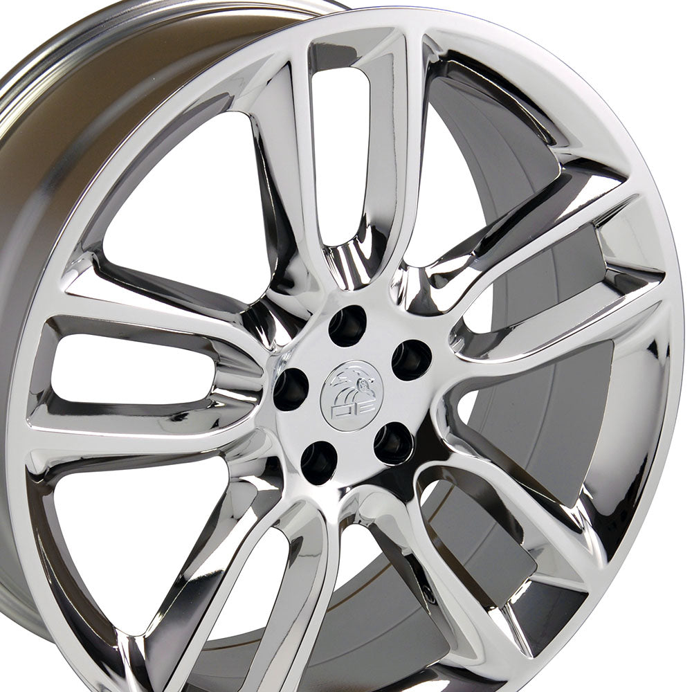 "22"" Fits Ford Edge Style Replica Wheel - PVD Chrome 22x9 