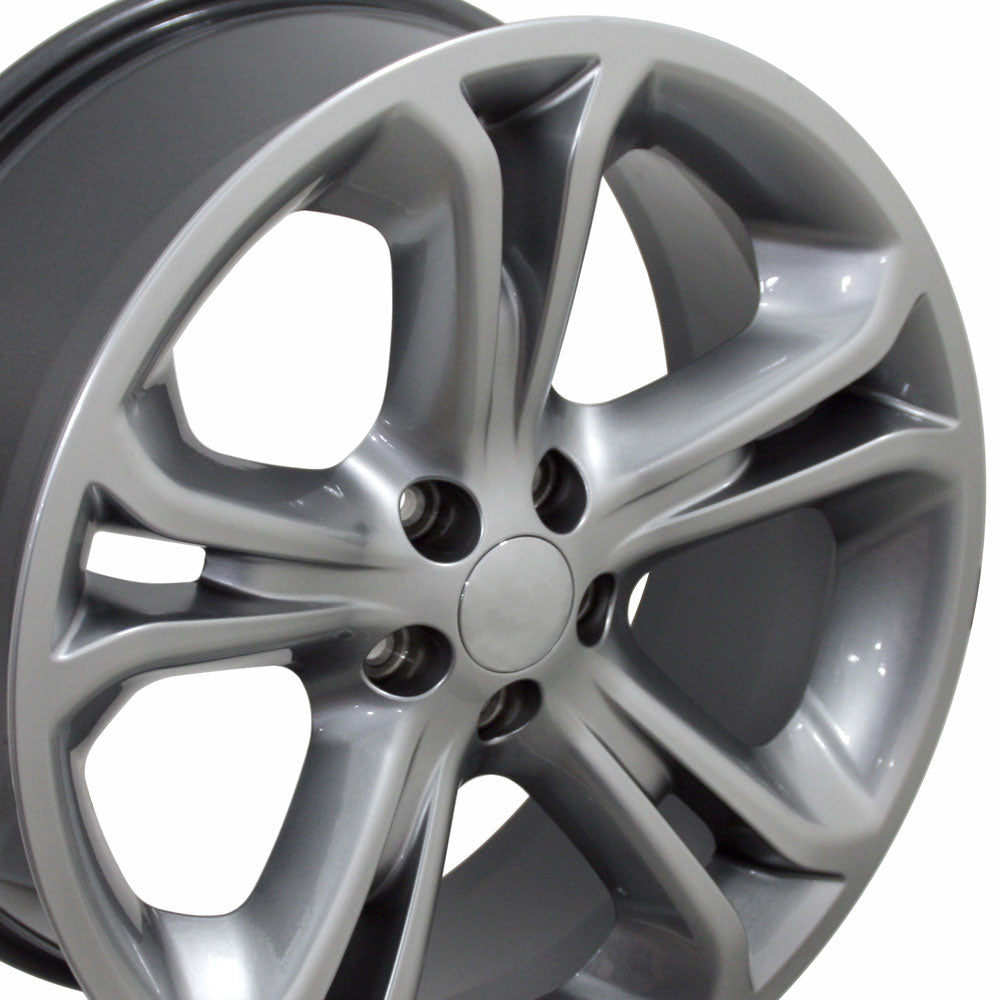 "20"" Fits Ford - Explorer Style Replica Wheel - Hyper Silver 2x8.5 