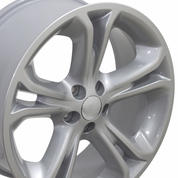 "20"" Fits Ford - Explorer Style Replica Wheel - Silver 2x8.5 