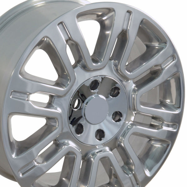 "20"" Fits Ford - Expedition Style Replica Wheel - Polished 2x8.5 