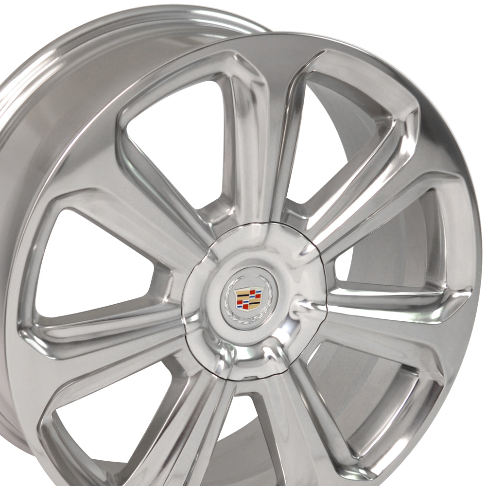 "20"" Cadillac - SRX Wheel OEM - Polished 2x8 