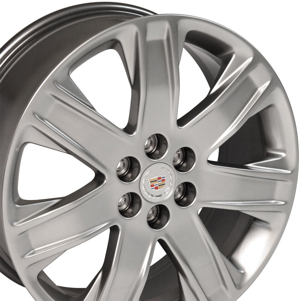 "20"" Cadillac - SRX Wheel OEM - Silver 2x8 