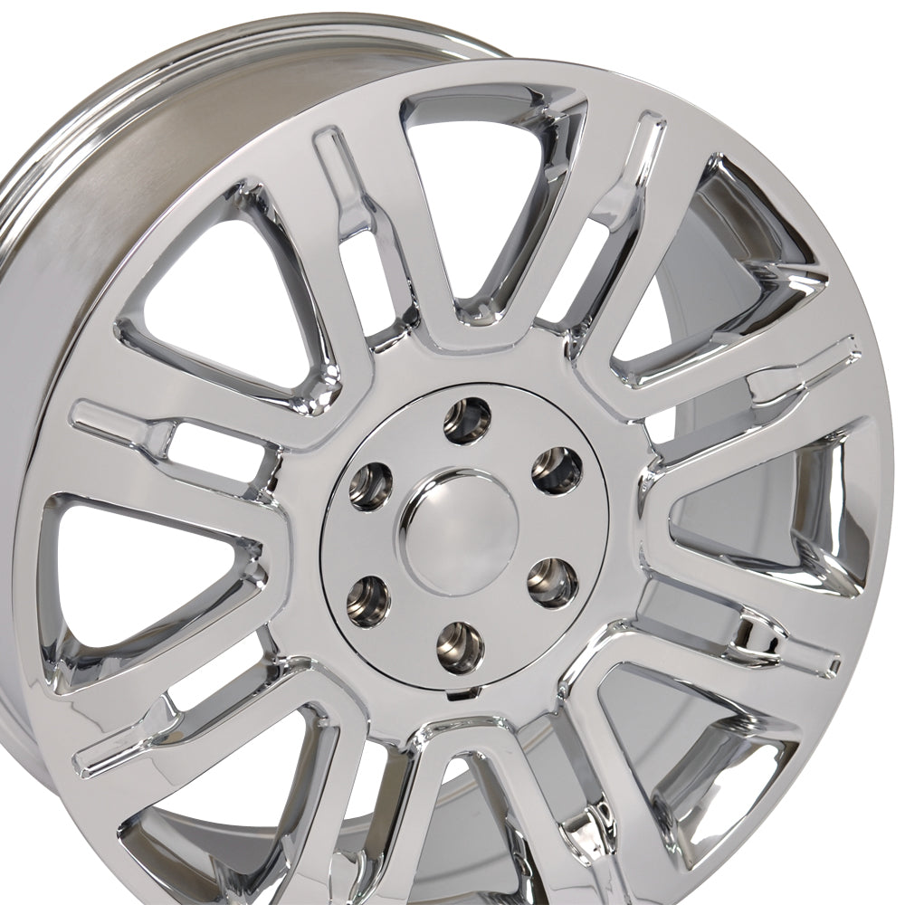 "20"" Fits Ford - Expedition Style Replica Wheel - Chrome 2x8.5 