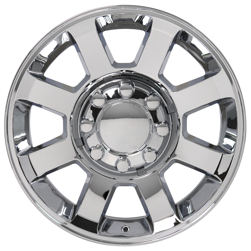 "20"" Fits Ford F25-F35 Wheel Replica - Chrome 2x8 