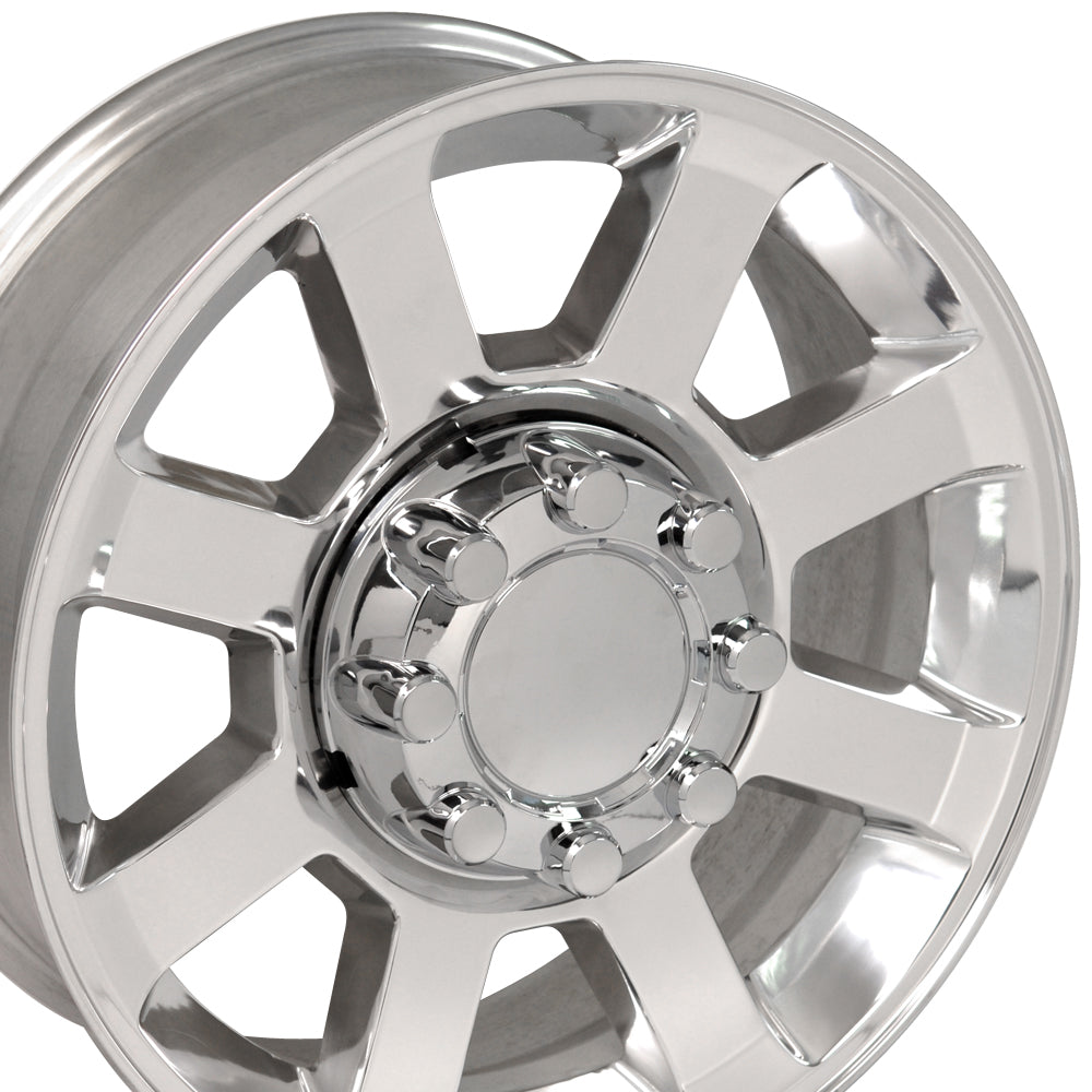 "20"" Fits Ford F25-F35 Wheel Replica - Polished 2x8 