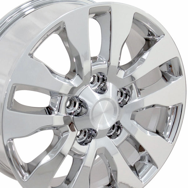 "20"" Fits Toyota - Tundra Style Replica Wheel - Chrome 2x8 