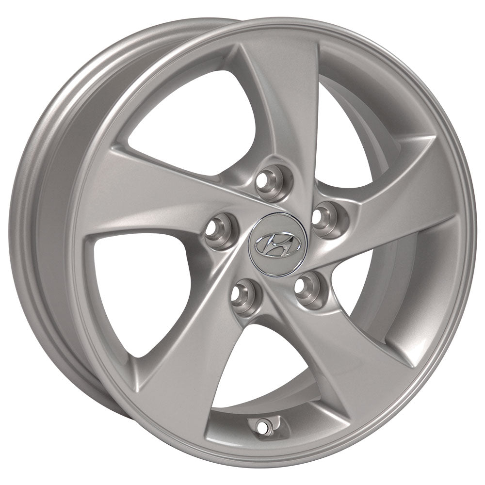"15"" Fits Hyundai - Elantra OEM Wheel - Silver 15x6 