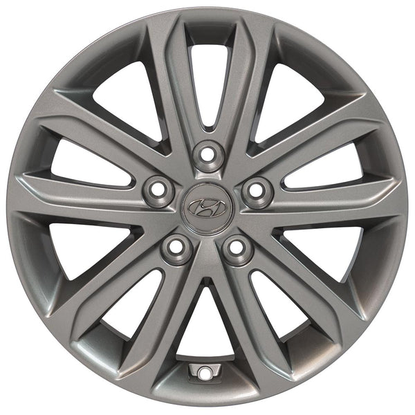 "16"" Hyundai - Elantra OEM Wheel - Silver 16x6.5 