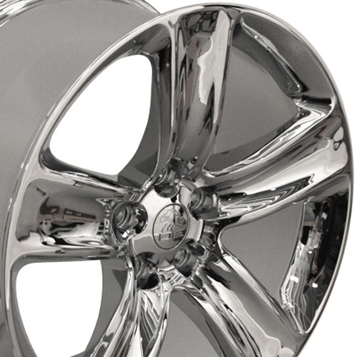 "20"" Fits Jeep - Grand Cherokee SRT Style Replica Wheel - Chrome 2x9 