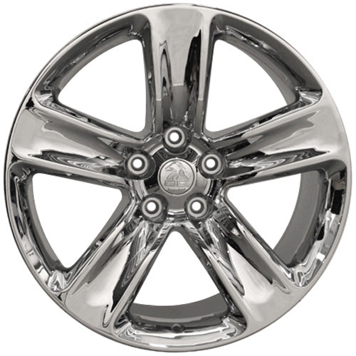 "20"" Fits Jeep - Grand Cherokee SRT Style Replica Wheel - Chrome 2x1 