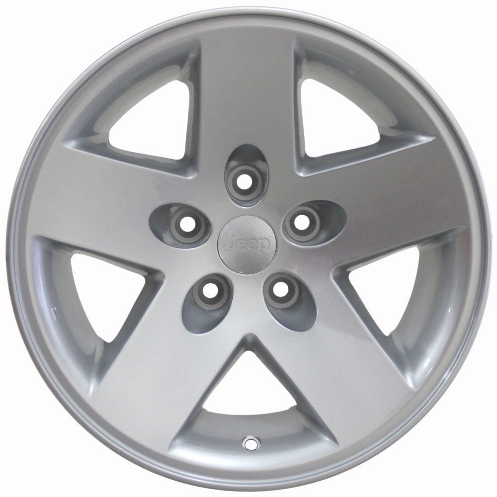 "17"" Fits Jeep - Sport OEM Wheel - Silver 17x7.5 