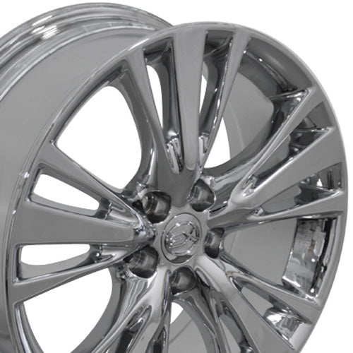 "19"" Fits Lexus - RX 35/ RX 45H Style Replica Wheel - Chrome 19x7.5 