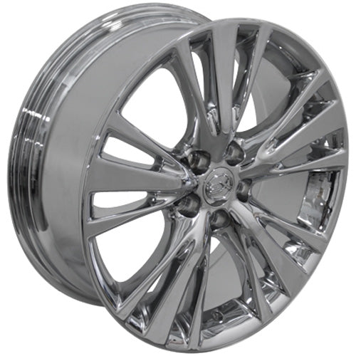 "19"" Fits Lexus - RX 45 Style Replica Wheel - PVD Chrome 19x7.5 