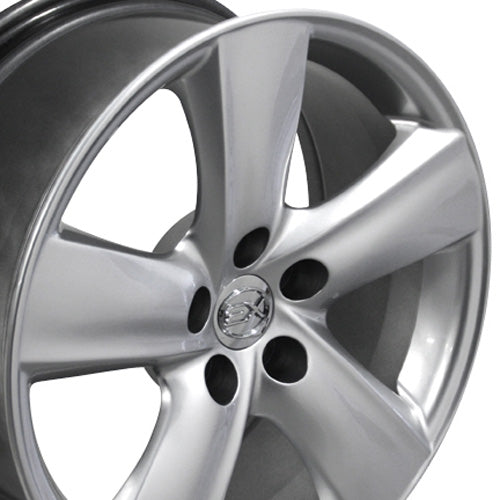 "18"" Fits Lexus - LS 46 Wheel - Hyper Silver 18x8 