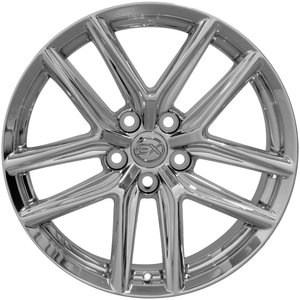 "18"" Fits Lexus - IS Style Replica Wheel - Chrome 18x8 