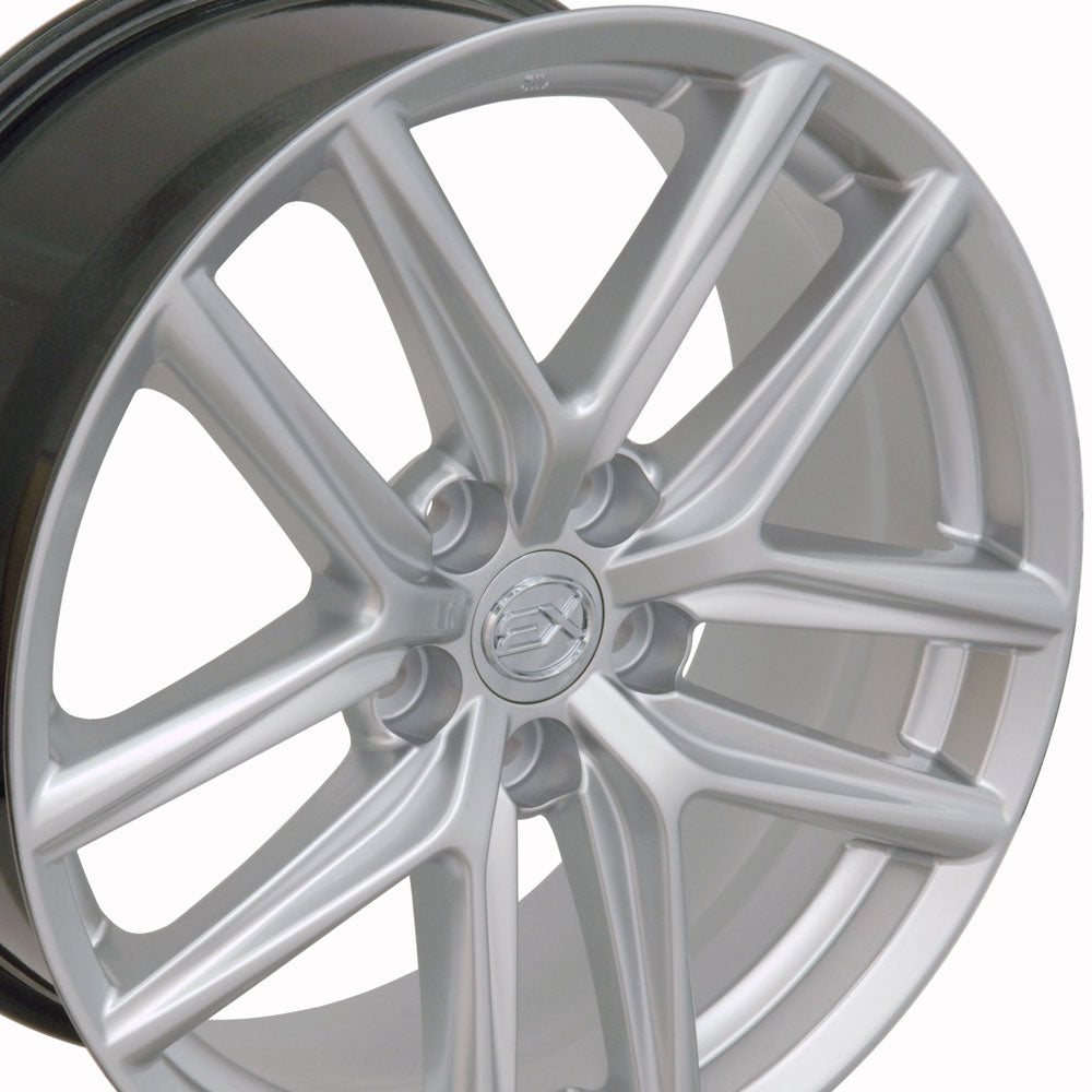 "18"" Fits Lexus - IS Style Replica Wheel - Hyper Silver 18x8 