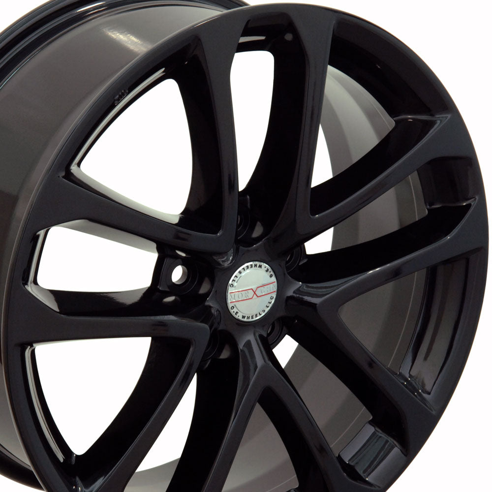 "18"" Fits Nissan - Altima Style Replica Wheel - Black 18x7.5 