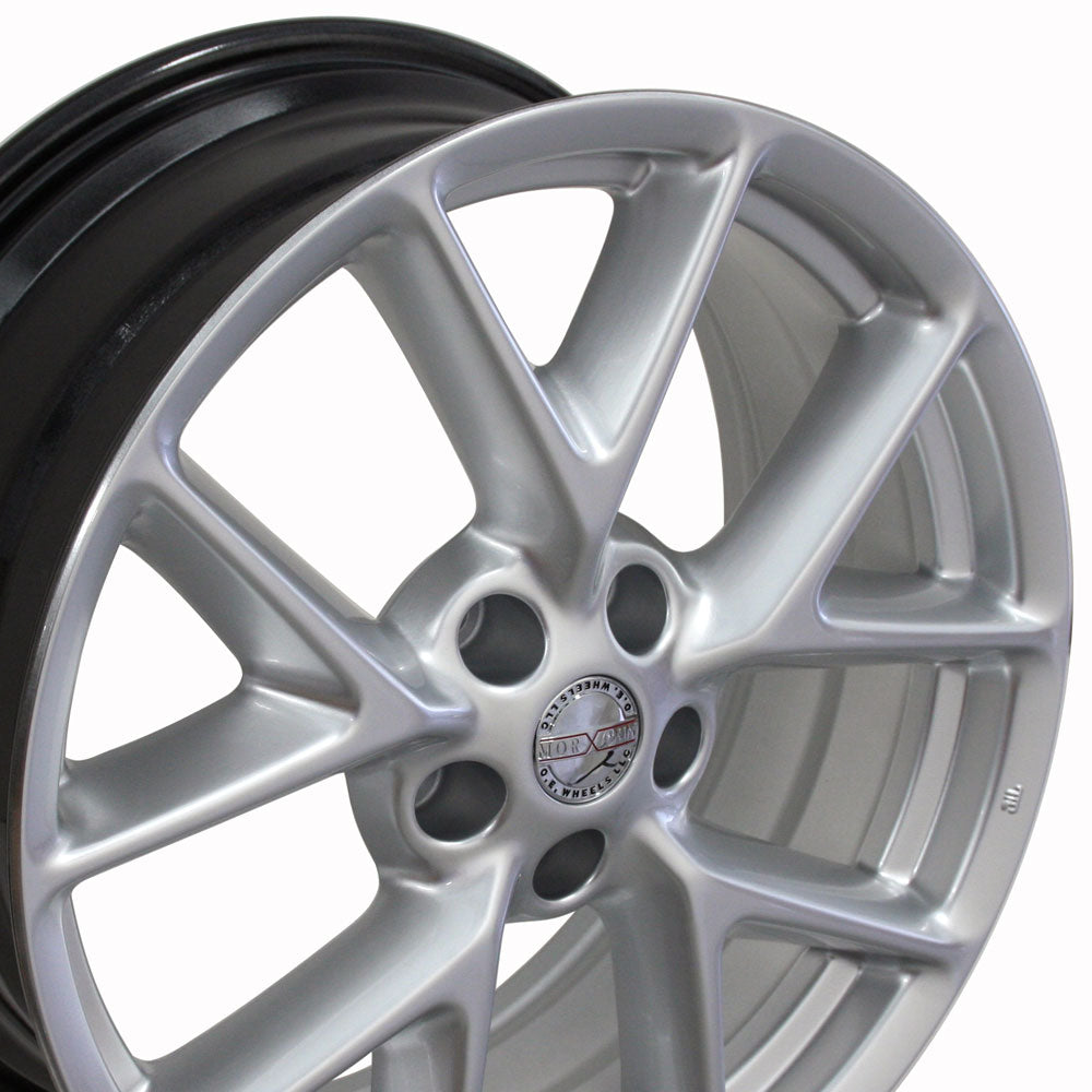 "19"" Fits Nissan - Maxima Style Replica Wheel - Hyper Silver 19x8 