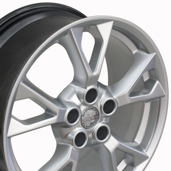 "18"" Fits Nissan - Maxima Style Replica Wheel - Hyper Silver 18x8 