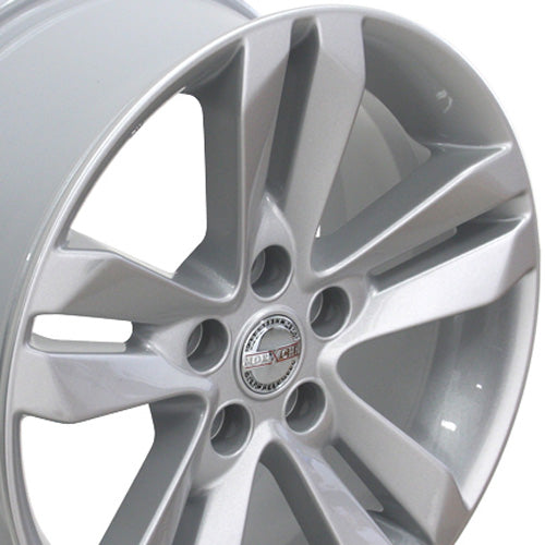 "17"" Fits Nissan - Altima Style Replica Wheel - Silver 17x7.5 