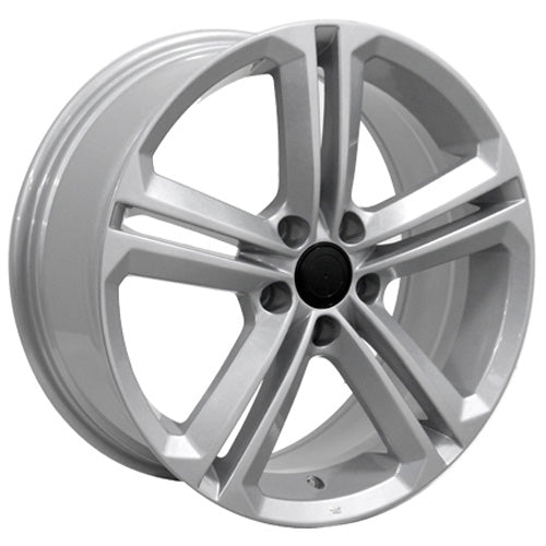 "18"" Fits VW Volkswagen - CC Wheel - Silver 18x8 